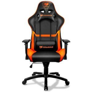 Cougar Gaming Chair (Black and Orange)