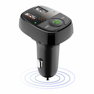 Smart Series FM Transmission Car Charger