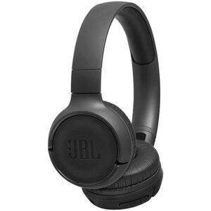JBL Tune 500BT Powerful Bass Wireless On-Ear Headphones Black