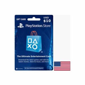 Buy Playstation USA $10 Gift card online in Qatar