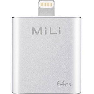 MILI 64GB EXTERNAL IPHONE FLASH DRIVE