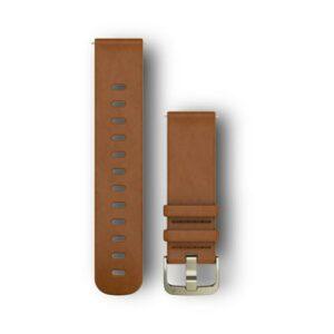 Garmin vívomove™ HR Light Brown Leather Band (20mm)