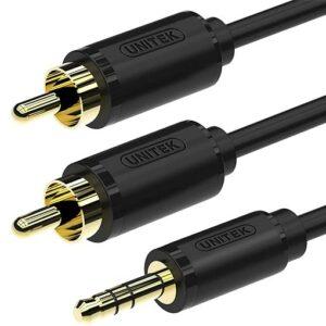 Unitek 3.5MM AUX to 2 RCA Cable