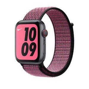 Apple Watch 44mm Pink Blast/True Berry Nike Sport Loop - Regular