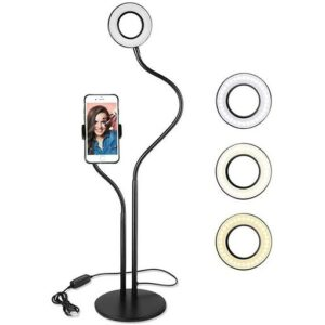 L-Series-Selfie-Ring-Light-with-Cell-Phone-Holder-Stand