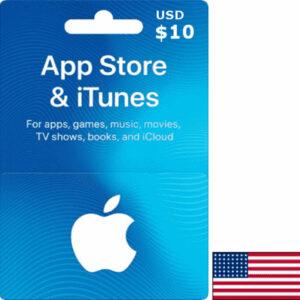 iTunes USA USD 10