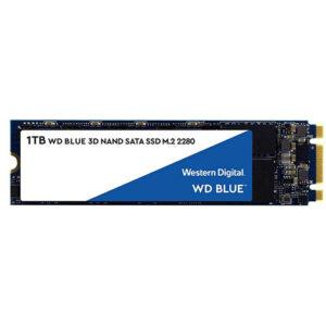 WD Blue 1TB 3D NAND Internal SSD - SATA III 6Gb/s M.2 2280 Solid State Drive - WDS100T2B0B