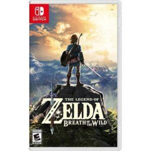 Nintendo Switch The Legend Of Zelda Breath Of The Wild Game