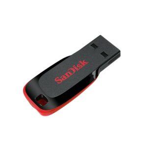 SanDisk 64GB Cruzer Blade USB 2.0 Flash Drive