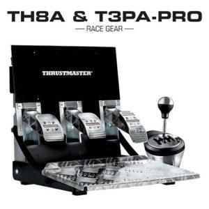 Thrustmaster Race Gear Bundle TH8A & T3PA-Pro