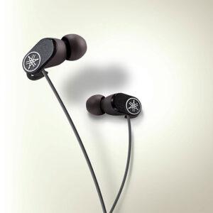 Yamaha earphones EPH-32 canal type Standard type Black