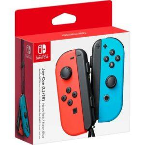 Nintendo Switch Joy-Con Controller Pair - Neon Red & Blue
