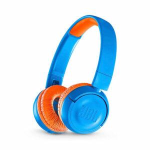 JBL JR300 Bluetooth Kids Wireless On-Ear Headphones - Rocker Blue