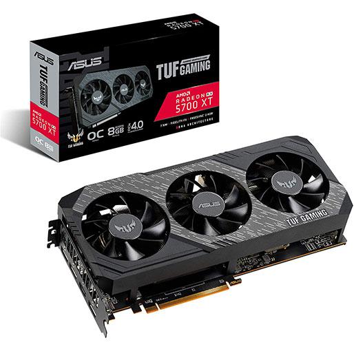 Buy ASUS TUF Gaming X3 Radeon RX 5700 XT OC edition 8GB GDDR6 Graphics Card in Qatar