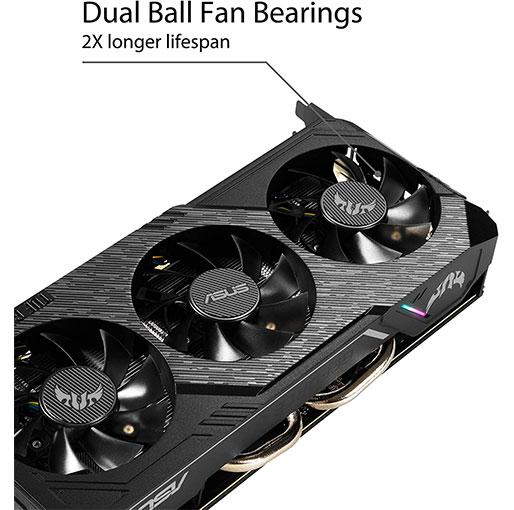 Asus TUF Gaming X3 GeForceR GTX 1660 OC edition 6GB GDDR5 Graphics Card