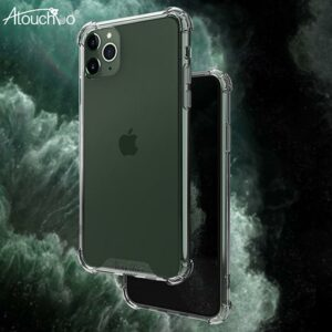 Atouch iPhone 11 Pro Max Anti-Shock Armor Clear Phone Case
