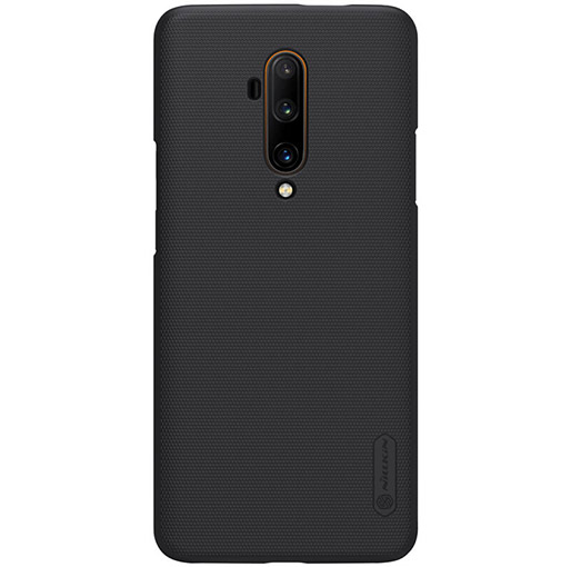 Buy Nillkin Oneplus 7T Pro Super Frosted Shield Matte cover case Black at best price in Qatar.