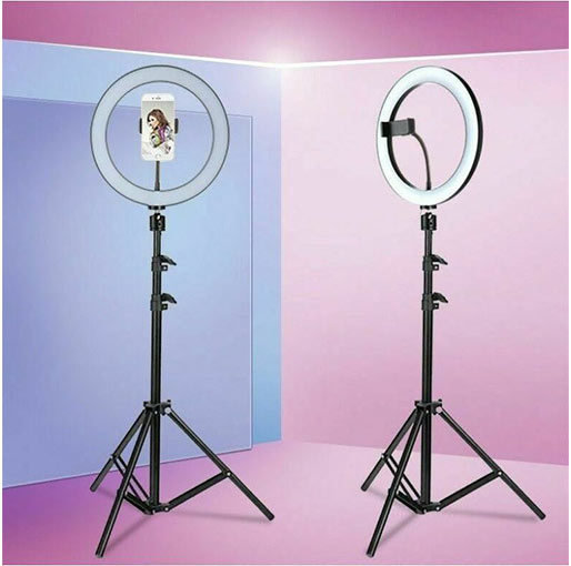 Buy Dimmable Supplementary Lamp Tiktok Ring light with Remote at best price in Qatar.