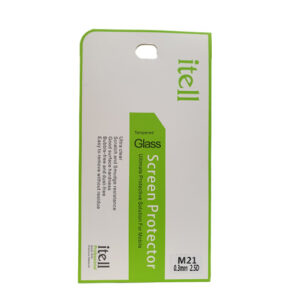 Buy Itell Samsung M21 Tempered glass screen protector at best price in Qatar.