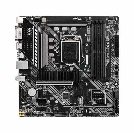 Buy MSI MAG B460M BAZOOKA LGA 1200 Intel B460 SATA 6Gb/s Micro ATX Intel Motherboard at best price in Qatar.