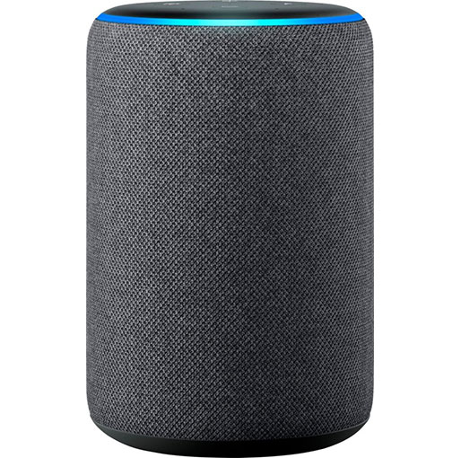Amazon - Echo Plus (2nd Gen) Smart Speaker with Alexa - Charcoal