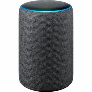 Buy Amazon - Echo Plus (2nd Gen) Smart Speaker with Alexa - Charcoal in Qatar