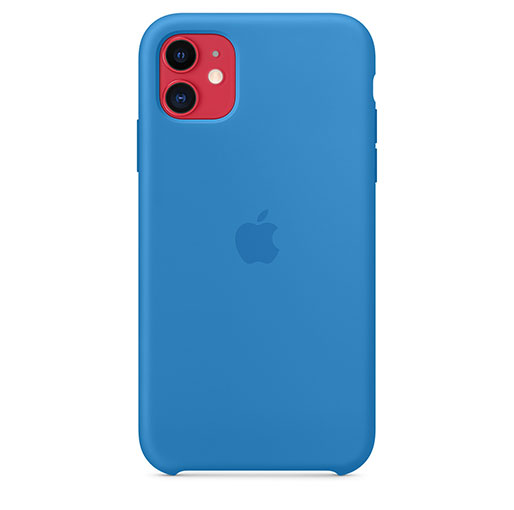 Apple iPhone 11 Silicone Case - Surf Blue