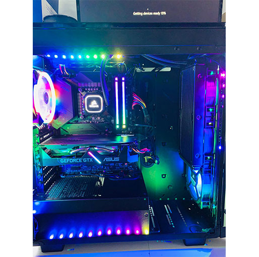 Gaming Desktop PC -Intel Core i7-10700 2.9 GHz -GTX 1660 Super 6GB , 32GB DDR4 DRAM 3200MHz-1TB HDD-480GB SSD