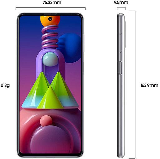 Galaxy M51 Dual SIM Black 8GB RAM 128GB 4G LTE