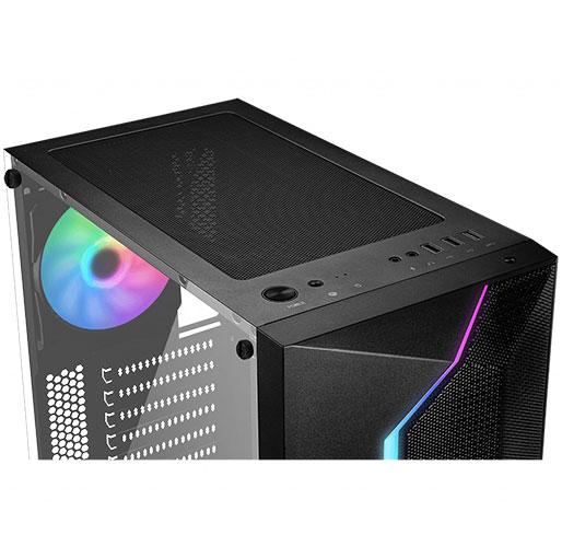 MSI MAG Vampiric 100R Mid Tower Gaming PC Case Black