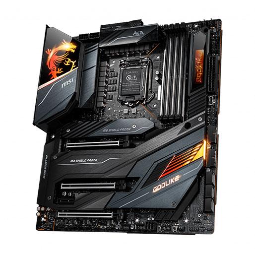 MSI MEG Z490 GODLIKE LGA 1200 Intel Z490 SATA 6Gb/s Extended ATX Intel Motherboard