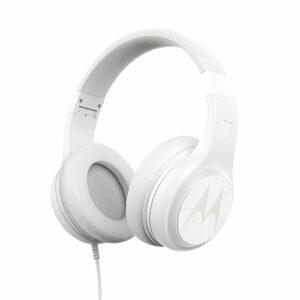 Buy Motorola Pulse 120 wired on-ear headphones White in Qatar