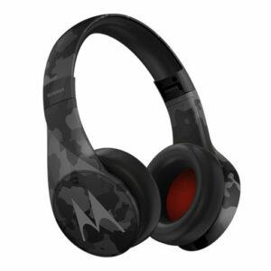 Buy Motorola Pulse Escape + Wireless Bluetooth Over-Ear Headphones - Black in Qatar