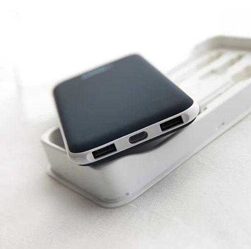 Veger V11 Power Bank 25000 mAh 2 USB Out Put - Dark Blue
