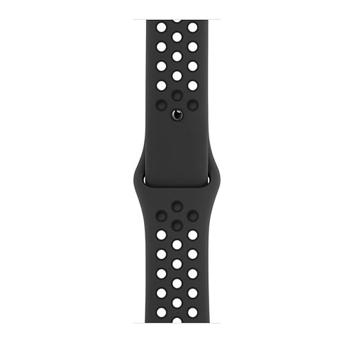 Apple Watch Nike Series 6 GPS, 44mm Space Gray Aluminum Case with AnthraciteBlack Nike Sport Band- regular