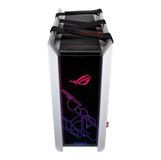 ASUS ROG Strix Helios RGB ATX/EATX mid-tower Gaming PC Case - White Edition