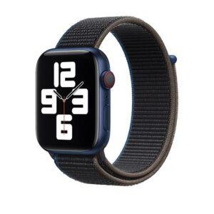 Buy Apple Watch Strap 44mm Charcoal Sport Loop - Regular In Qatar