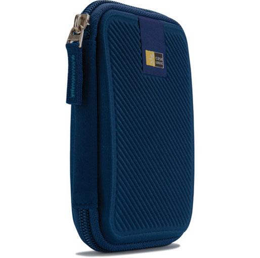 Case Logic EHDC-101 External Portable Hard Drive Case - Dark Blue