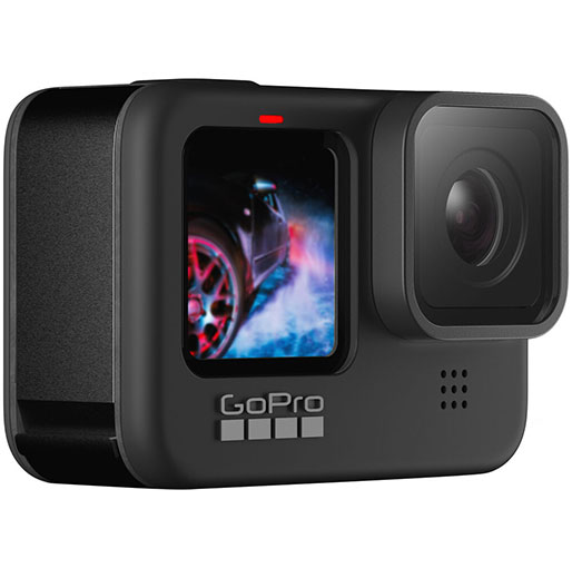 GoPro Hero 9 Waterproof Action Camera with Front LCD and Touch Rear Screens, 5K Ultra HD Video