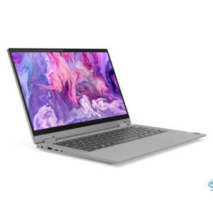 """Buy Lenovo IdeaPad Flex 5 14IIL05 i5-1035G1 3.6GHz 8GB 256GB SSD 14"""" FHD Multi-touch IPS Display, Windows 10 Home, English/ Arabic Keyboard - Graphite Grey in Qatar"""