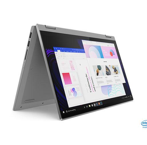 """Lenovo IdeaPad Flex 5 14IIL05 i5-1035G1 3.6GHz 8GB 256GB SSD 14"""" FHD Multi-touch IPS Display, Windows 10 Home, English/ Arabic Keyboard - Graphite Grey"""