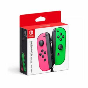 Buy Nintendo Switch Joy Con Pink/Green in Qatar