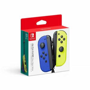 Buy Nintendo Switch Joy Con Blue/Yellow in Qatar