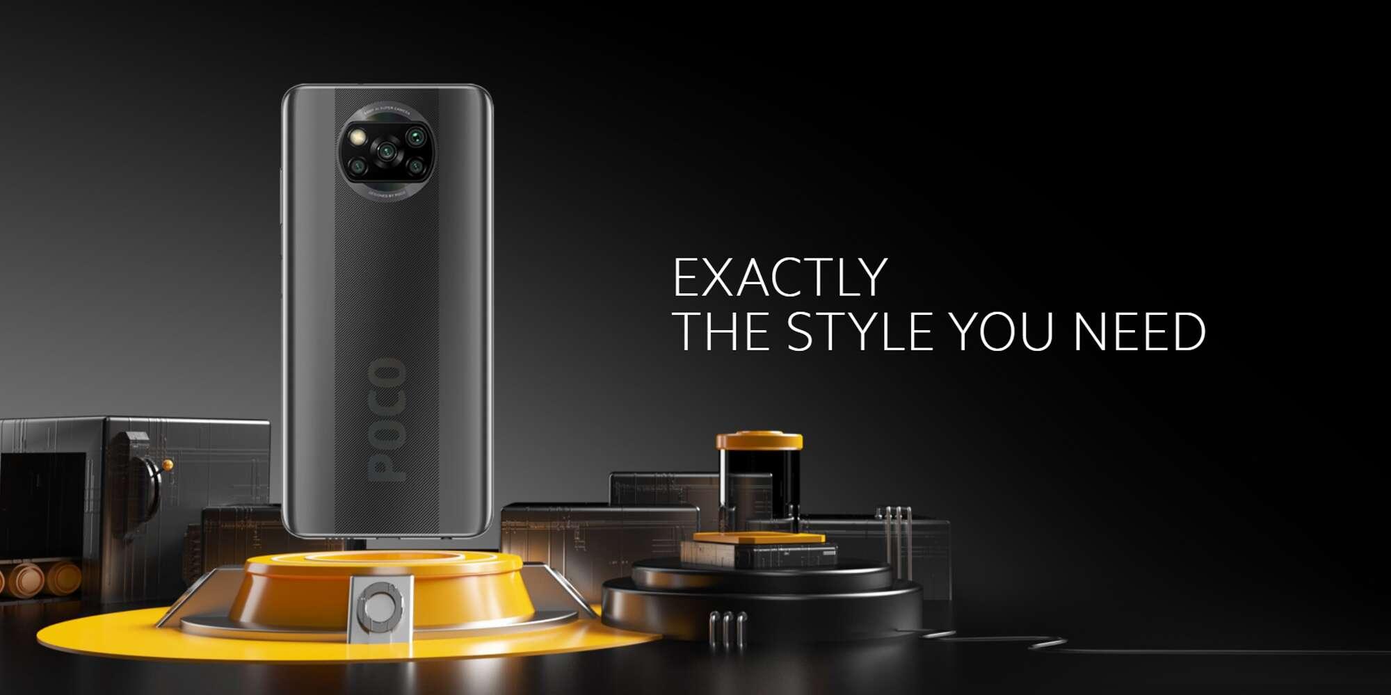 Xiaomi Poco X3 Dual SIM 6GB RAM 128GB 4G LTE Cobalt Blue-14