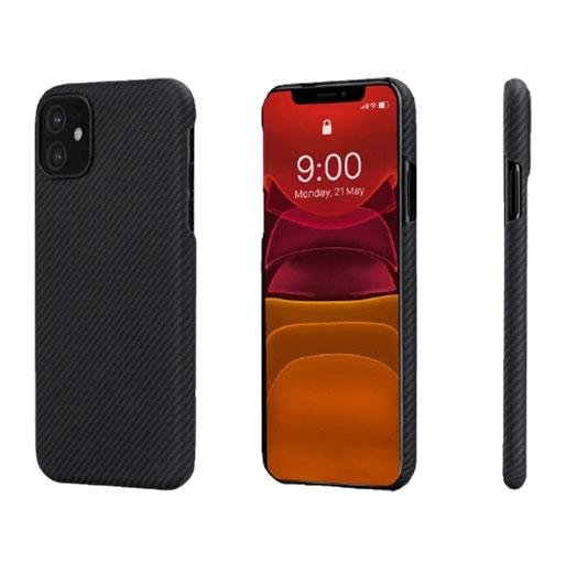 "Buy Pitaka Air Case Case For iPhone 11 (6.1"") - Black/Grey in Qatar"