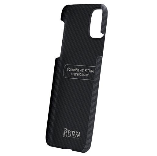 Pitaka MagEZ Case For iPhone 11 Pro - Black/Grey (Twill) image 4