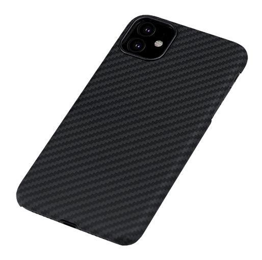 Pitaka MagEZ Case For iPhone 11 Pro - Black/Grey (Twill) image 2
