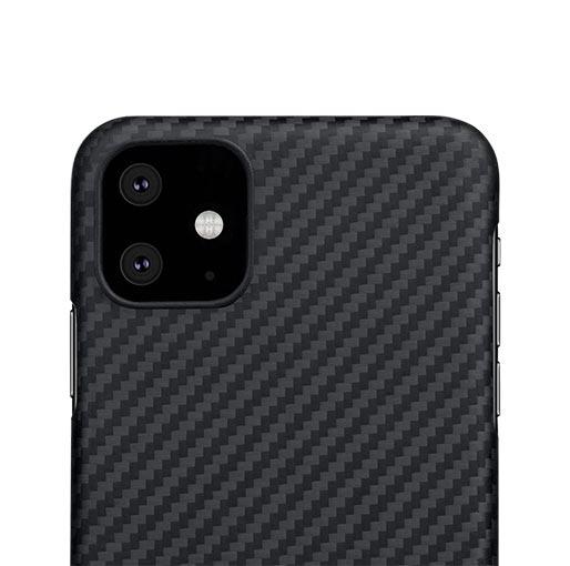 Pitaka MagEZ Case For iPhone 11 Pro - Black/Grey (Twill) image 3