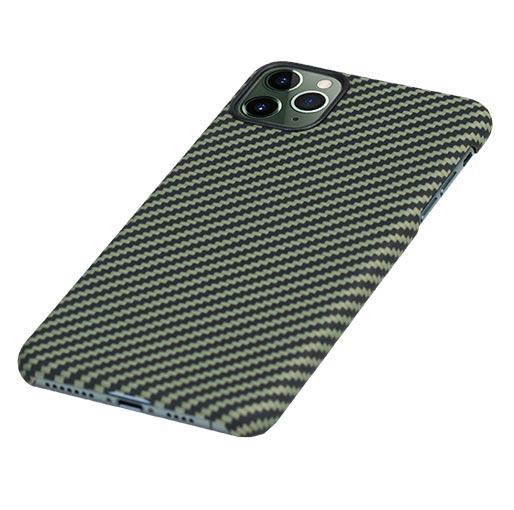 Pitaka-MagEZ-Case-For-iPhone-11-Pro-BlackYellow-Twill- image 3