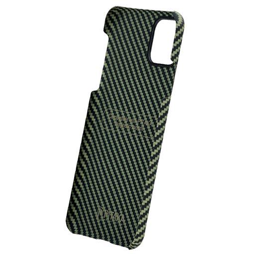 Pitaka-MagEZ-Case-For-iPhone-11-Pro-BlackYellow-Twill- image 2